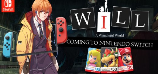 WILL: A Wonderful World, Nintendo Switch, Nintendo eShop cards, US, North America, Europe, Australia, New Zealand, game, features, story, price, gameplay, Circle entertainment, 4D Door Games
