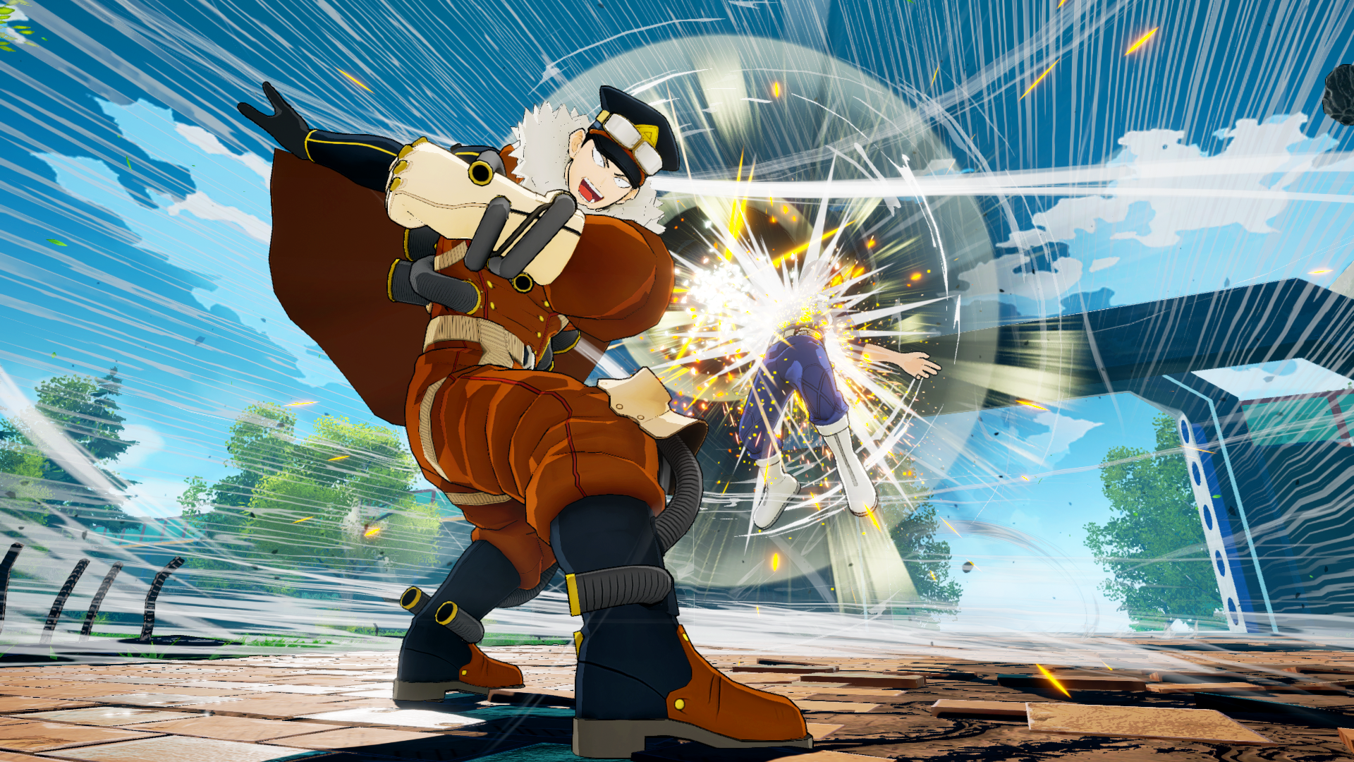 My Hero One's Justice, Boku no Hero Academia One's Justice, PS4, XONE, Nintendo Switch, Boku no Hero Academia, gameplay, features, trailer, screenshots, DLC, Inasa Yoarashi, update