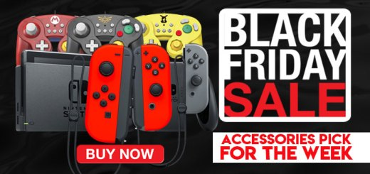 Black Friday, Black Friday Sale, accessories, Nintedo Switch, Joy-Con, Controllers