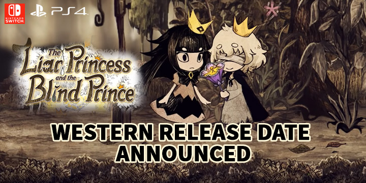 The Liar Princess and the Blind Prince, PS4, Switch, PlayStation 4, Nintendo Switch, US, Europe, gameplay, features, release date, price, trailer, screenshots, localization
