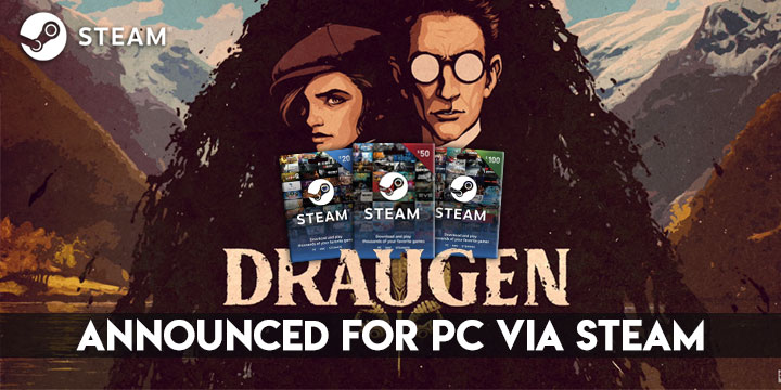 Draugen, PC, Steam, PS4, Xbox One, Red Thread Games, Steam cards, release date, gameplay, features, trailer, teaser, screenshots