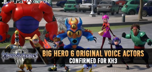 Kingdom Hearts III, Square Enix, PS4, XONE, US, Europe, Australia, Japan, update, Square Enix, trailer, Big Hero 6