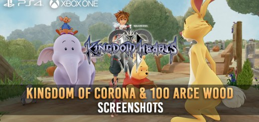 Kingdom Hearts III, Square Enix, PS4, XONE, US, Europe, Australia, Japan, update, Square Enix, screenshots, Kingdom of Corona, 100 Arce Wood