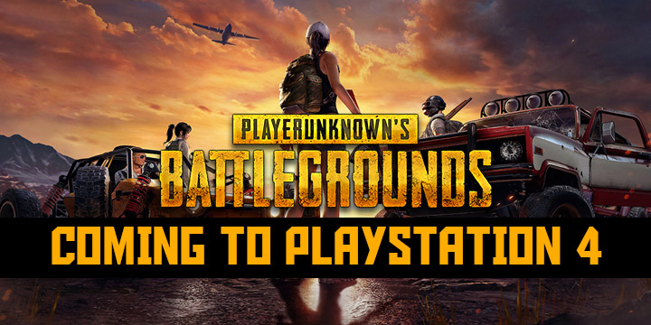 Playerunknown S Battlegrounds Is Coming To Ps4 This December