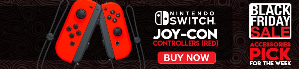 Black Friday, Black Friday Sale, accessories, Nintendo Switch, Joy-Con, Controllers