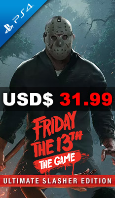 FRIDAY THE 13TH: THE GAME [ULTIMATE SLASHER EDITION] Gun Media