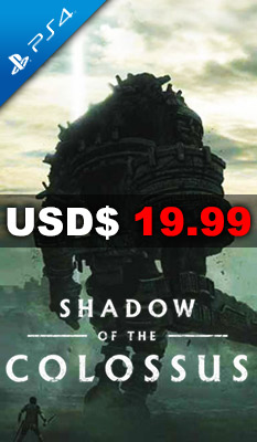 SHADOW OF THE COLOSSUS Sony Computer Entertainment