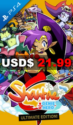 SHANTAE: HALF-GENIE HERO [ULTIMATE DAY ONE EDITION] PQube