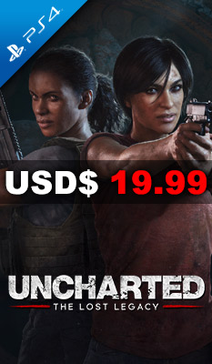 UNCHARTED: THE LOST LEGACY Sony Computer Entertainment