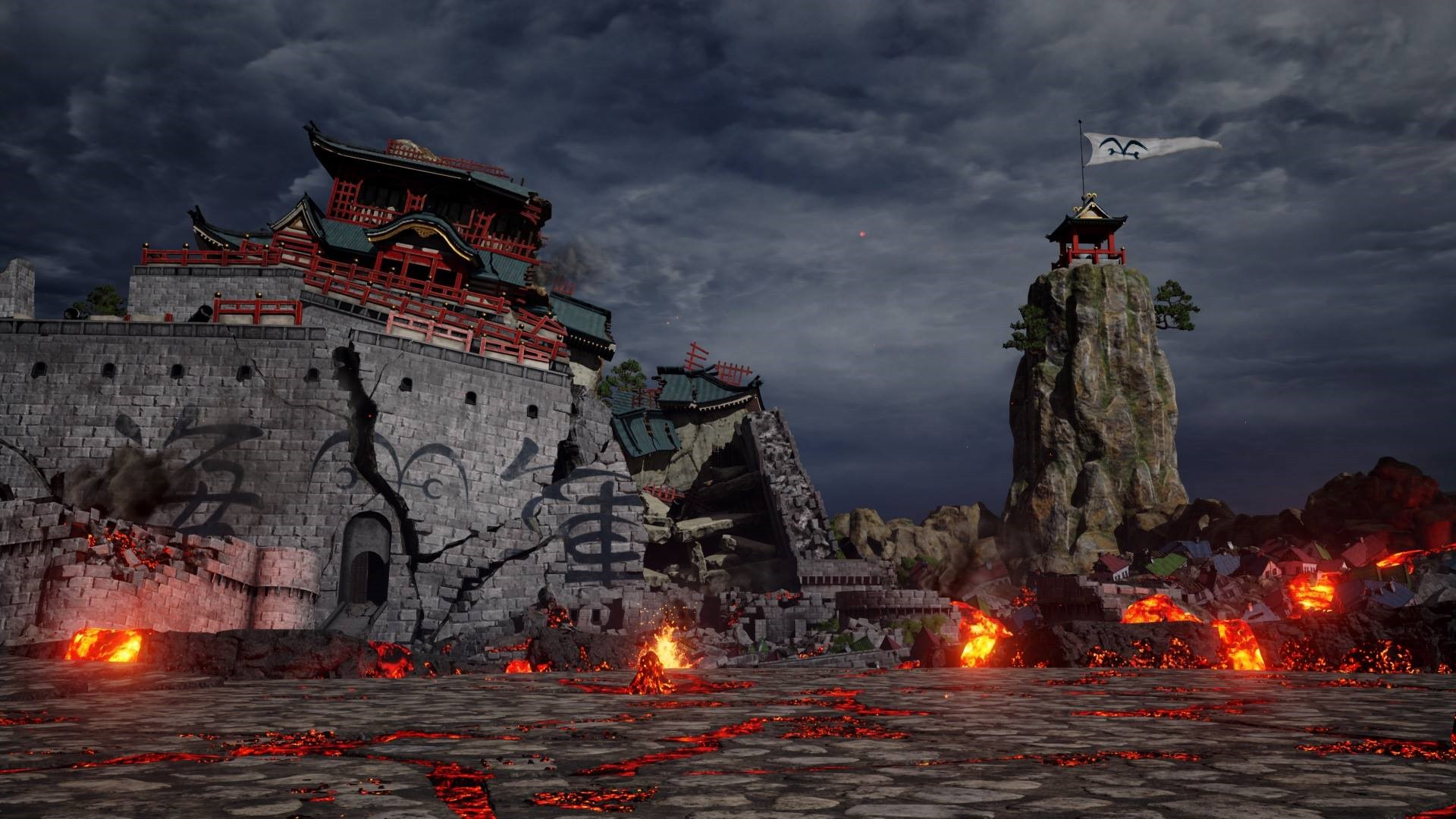Jump Force, PlayStation 4, Xbox One, release date, gameplay, price, features, US, North America, Europe, update, Marineford Stage, new stage, new screenshots, One Piece's Marineford Stage