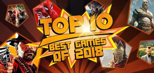Best Games of 2018, PS4, XONE, Switch, Steam, PC, God of War, Red Dead Redemption 2, Marvel's Spider-Man, Monster Hunter: World, SoulCalibur VI, Assassin's Creed Odyssey, SoulCalibur VI, Super Smash Bros. Ultimate, Far Cry 5, Pokémon: Let's Go Pikachu!, Pokémon: Let's Go Eevee!, Call of Duty: Black Ops 4