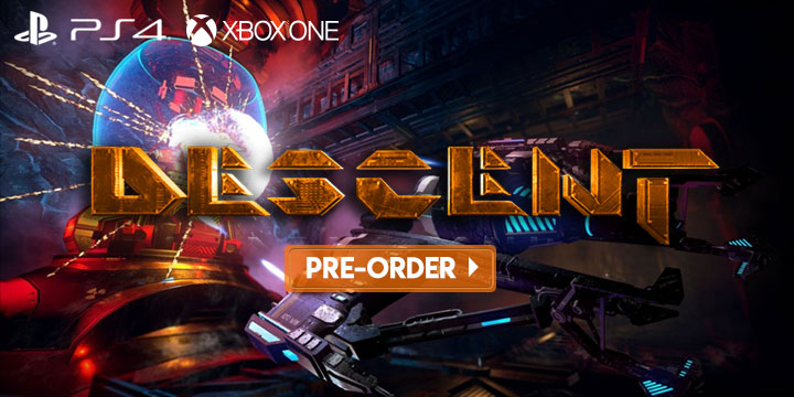 Descent is Coming to All Major Consoles & PC in 2019   Pre