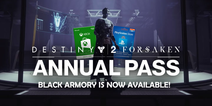 Destiny 2, Destiny 2: Forsaken, Destiny 2: Forsaken - Legendary Collection, PS4, XONE, PlayStation 3, Xbox One, US, Europe, Japan, Annual Pass, Black Armory, update, update 2.1.1.1