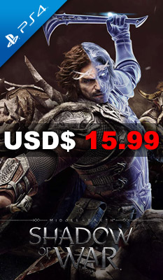 MIDDLE-EARTH: SHADOW OF WAR Warner Home Video Games