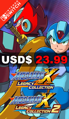 MEGA MAN X LEGACY COLLECTION 1 + 2 Capcom