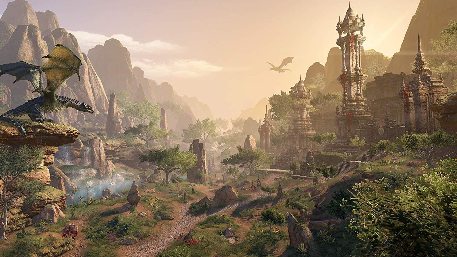 The World of Tamriel Continues with The Elder Scrolls Online
