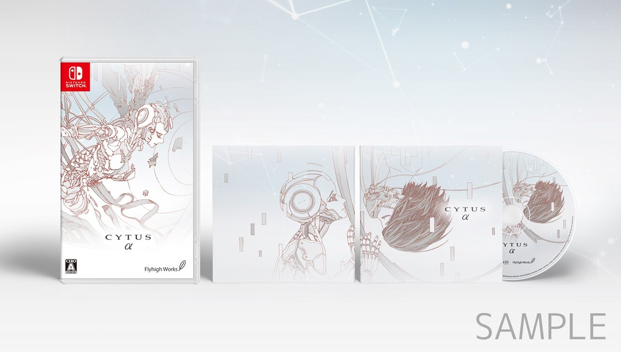 Cytus Alpha, Nintendo Switch, West, Japan, US, North America, release date, game, price, pre-order, gameplay, features, trailer, Flyhigh Works, PM Studios