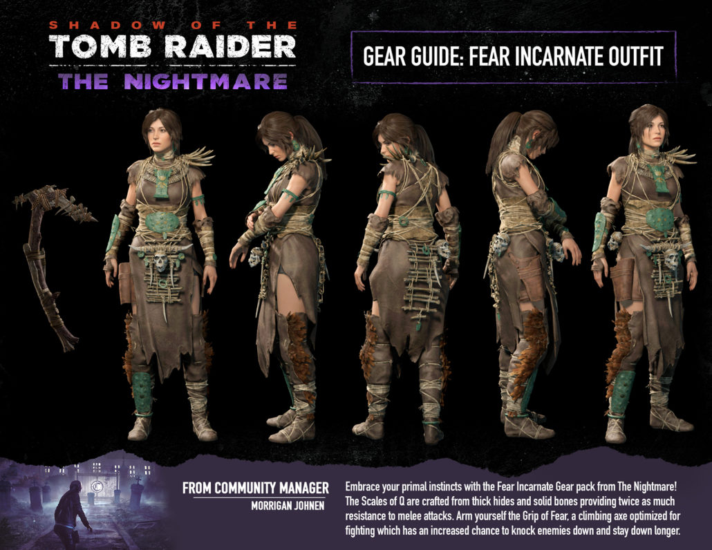Shadow of the Tomb Raider, PlayStation 4, Xbox One, DLC, The Nightmare, features, gameplay, price, North America, Europe, Japan, Asia, Australia, update, news