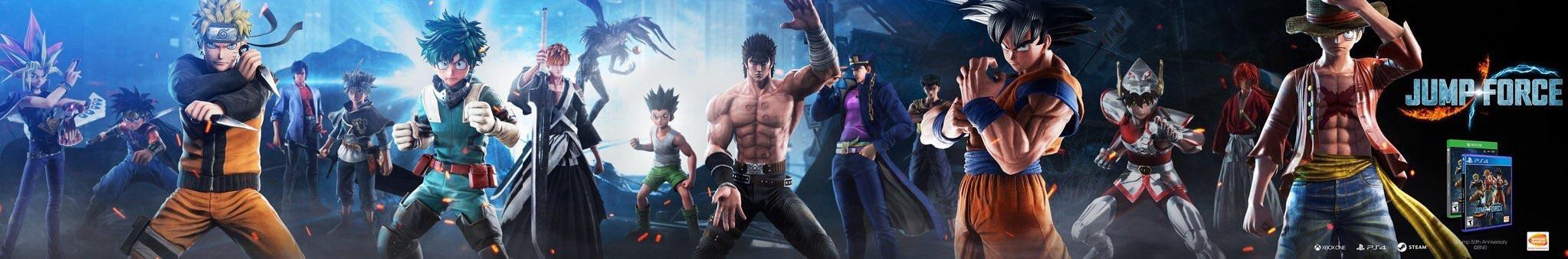 Jump Force, PlayStation 4, Xbox One, release date, gameplay, price, features, US, North America, Europe, update, news, new characters, advertisement leak,JoJo's Bizarre Adventure, Dragon Quest,Jotaro Kujo, Dai