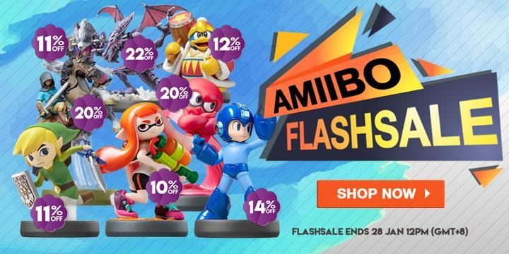 AMIIBO FLASHSALE! Now Open for a Limited time only