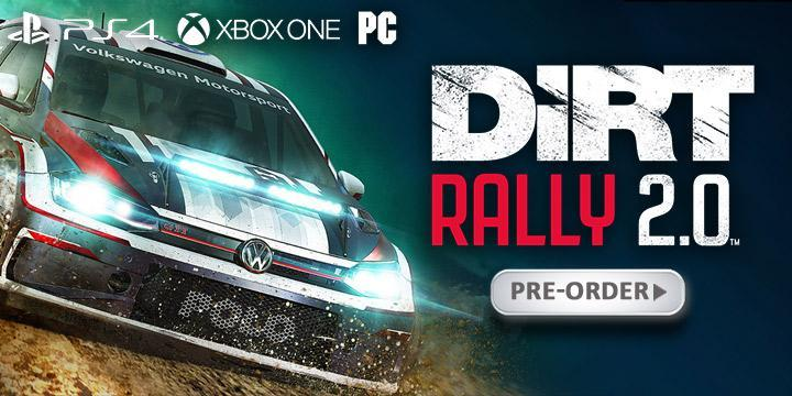 DiRT Rally 2.0, PS4, XONE, PC, PlayStation 4, Xbox One, Windows, US, Europe, Australia, Asia, gameplay, features, release date, price, trailer, screenshots