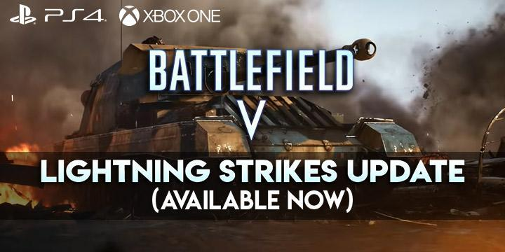 Battlefield V, ps4, one, europe, usa, asia, japan, price, gameplay, features, Electronic Arts, new trailer, Tides of War, Lightning Strikes, update, news