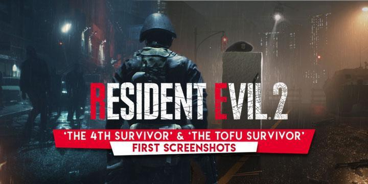 Resident Evil 2 Remake New Screenshots Features HUNK & The Tofu