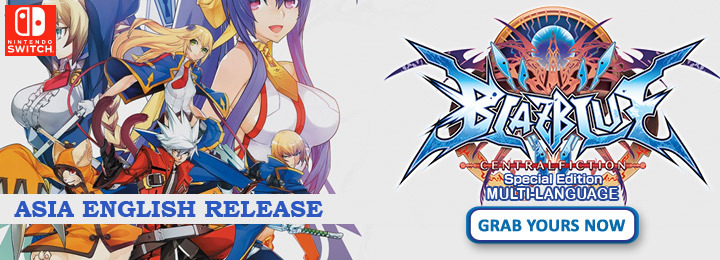 BlazBlue: Central Fiction,BlazBlue: Central Fiction Special Edition,BlazBlue: Central Fiction Multi-Language, H2 Interactive, price, release date, gameplay, features, trailer, pre-order, English, Nintendo Switch, Switch