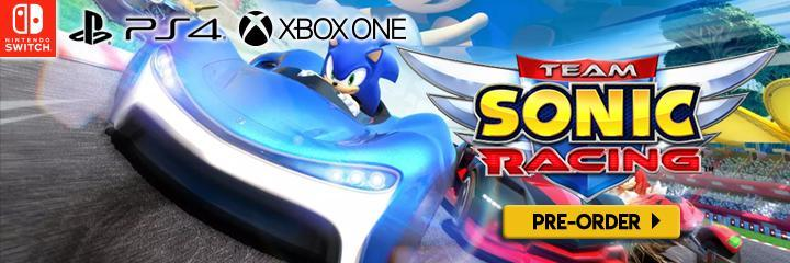 Team Sonic Racing, PlayStation 4, Xbox One, Switch, US, North America, Europe, release date, gameplay, features, price, Japan, game, update, news