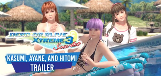 Dead or Alive Xtreme 3: Scarlet, Dead or Alive Xtreme 3, Dead or Alive, Koei Tecmo, Team Nija, PS4, Switch, Japan, Asia, gameplay, features, release date, price, trailer, screenshots, update, news,Kasumi,Ayane, Hitomi