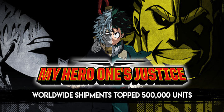 My Hero One's Justice, Boku no Hero Academia: One's Justice, PS4, XONE, Switch, PlayStation 4, Xbox One, Nintendo Switch, gameplay, features, US, Europe, Australia, Japan, Asia, update, sales