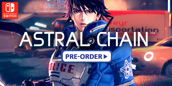 Astral Chain Is Heading Exclusively To Nintendo Switch On