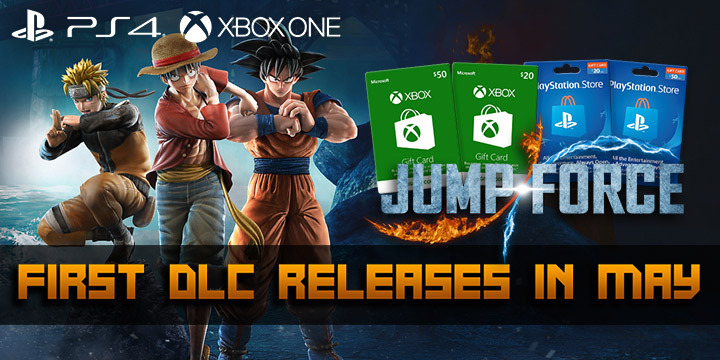 Jump Force, PlayStation 4, Xbox One, release date, gameplay, price, features, US, North America, Europe, update, news,  DLC, post-launch DLC, first DLC