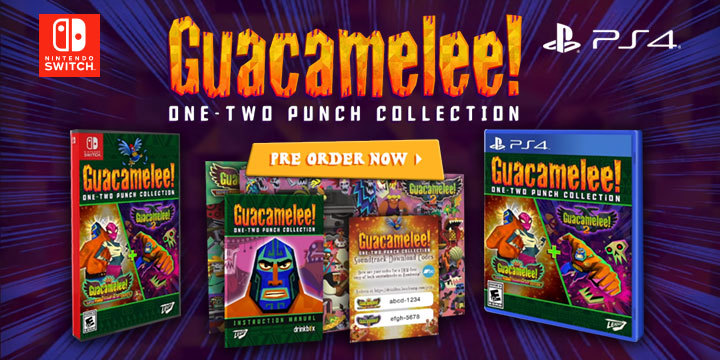 Guacamelee! One-Two Punch Collection, PS4, Switch, PlayStation 4, Nintendo Switch, North America, US, release date, price, gameplay, features, game, Leadman Games, pre-order