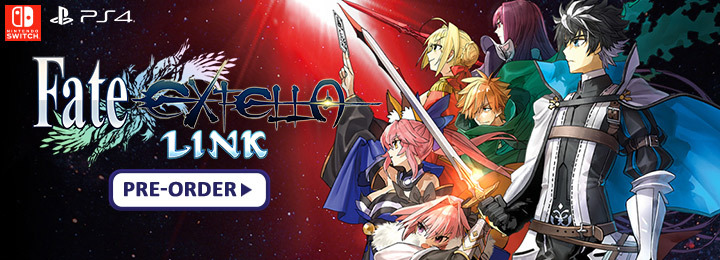 Fate/Extella Link, US, Europe, PS4, Switch, PlayStation 4, Nintendo Switch, release date, update