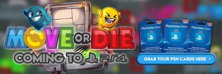 Those Awesome Guys, PlayStation 4, Move or Die, PS4, release date, gameplay, features, trailer, game