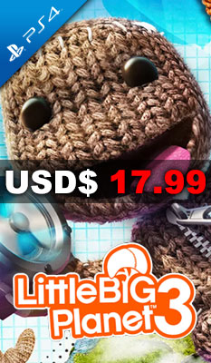 LITTLEBIGPLANET 3 Sony Computer Entertainment
