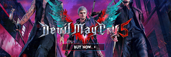 Devil May Cry 5, Capcom, Devil May Cry, PS4, XONE, PlayStation 4, Xbox One, update, sales, UK Sales chart