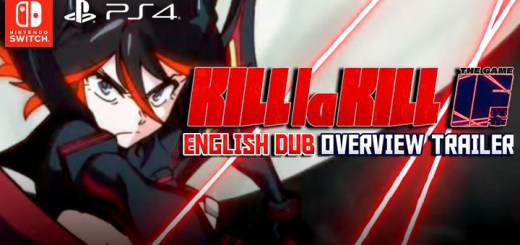 Kill la Kill, Kill la Kill The Game: IF, US, Europe, Japan, PS4, Switch, PlayStation 4, Nintendo Switch, update, English Dub trailer