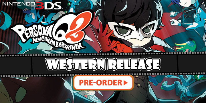 Persona Q2: New Cinema Labyrinth - Western Release Coming