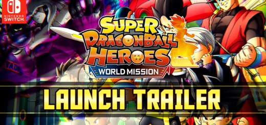 Super Dragon Ball Heroes: World Mission, Bandai Namco, Nintendo Switch, Switch, US, North America, Europe, Asia, Japan, West, release date, price, game, gameplay, features, launch trailer, update