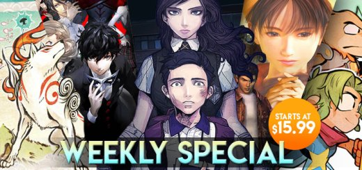 WEEKLY SPECIAL: Persona 5, Okami HD, The Coma: Recut, & More!