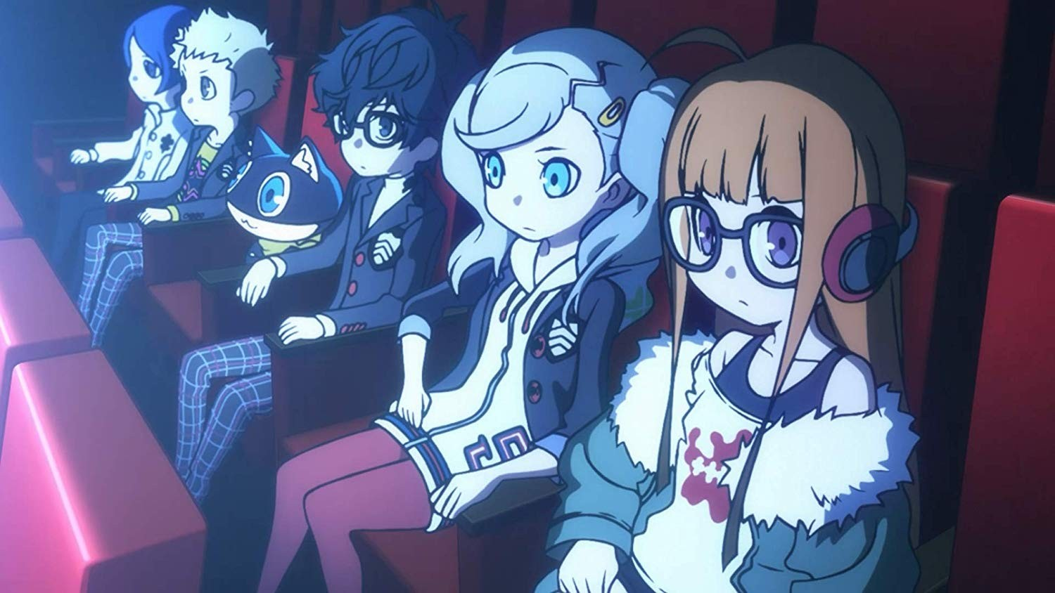Persona Q2: New Cinema Labyrinth - Atlus Releases a Free Theme!