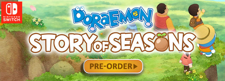 Doraemon Story of Seasons, Nintendo Switch, Switch, Asia, Bandai Namco, release date, gameplay, features, price, pre-order