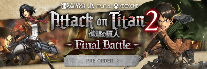 Attack on Titan 2: Final Battle New Gameplay - Wield Your