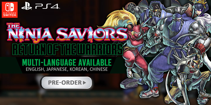 The Ninja Saviors: Return of the Warriors Asia English