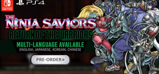 The Ninja Saviors, The Ninja Saviors: Return of the Warriors, The Ninja Saviors: Return of the Warriors (Multi-Language), Multi-language, English, Asia, Nintendo Switch, Switch, H2 Interactive, Pre-order, The Ninja Warriors: Again, The Ninja Warriors: Once Again