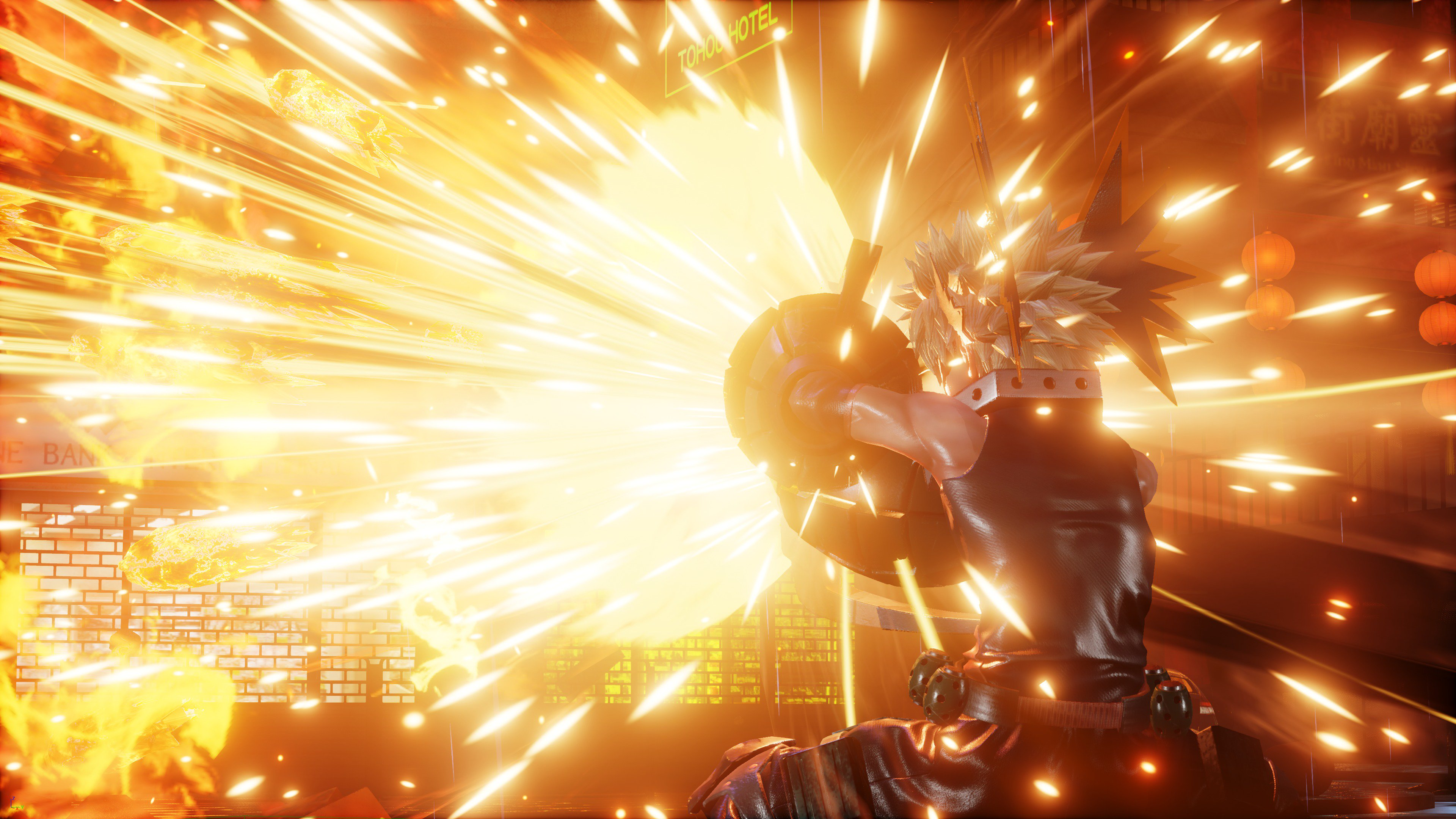 Jump Force, PlayStation 4, Xbox One, gameplay, price, features, US, North America, Europe, update, news,  DLC, Characters Pass, My Hero Academia, Bakugo