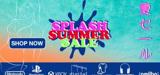 Summer, Summer Sale, Splash Summer Sale, Sale, Discount, PS4, Switch, Digital Codes, PS Vita, PA Exclusives, Merch