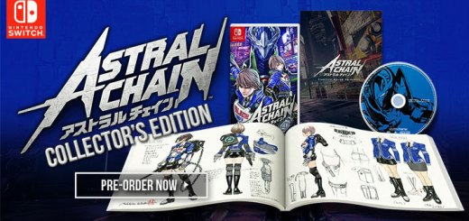 Astral Chain, Nintendo, Astral Chain (Collector's Edition), Collector's Edition, Limited Edition, Japan, Nintendo Switch, Switch, Pre-order, アストラル チェイン コレクターズ エディション, E3 2019, E3